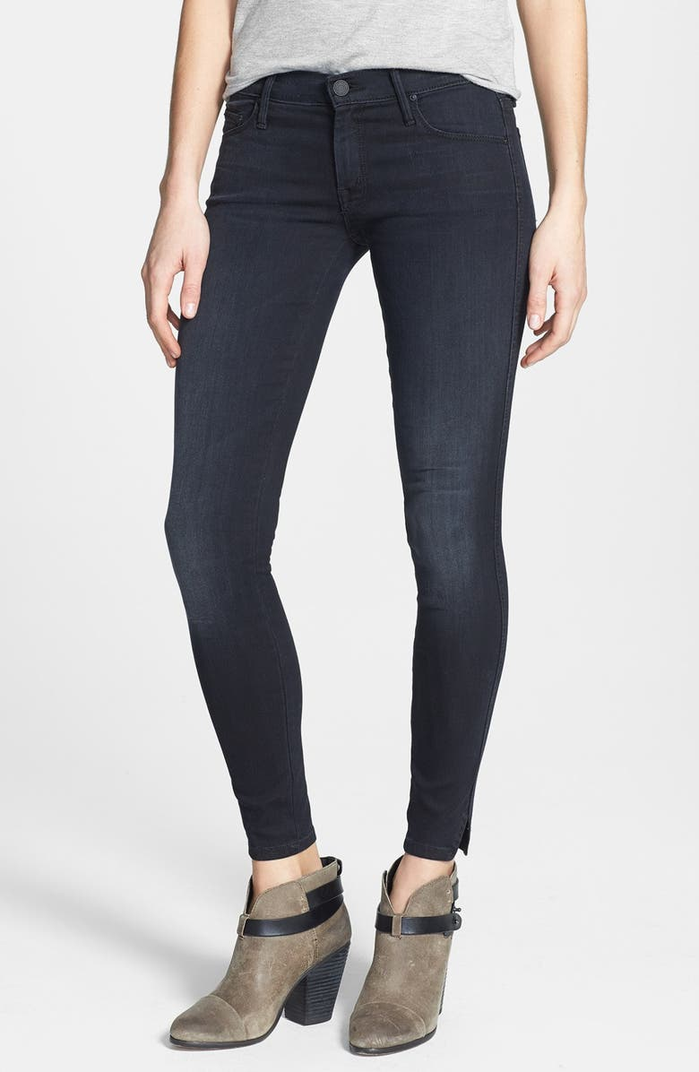 cada00fc9dc MOTHER 'Vamp' Ankle Slit Skinny Jeans (Fashionably Late) | Nordstrom