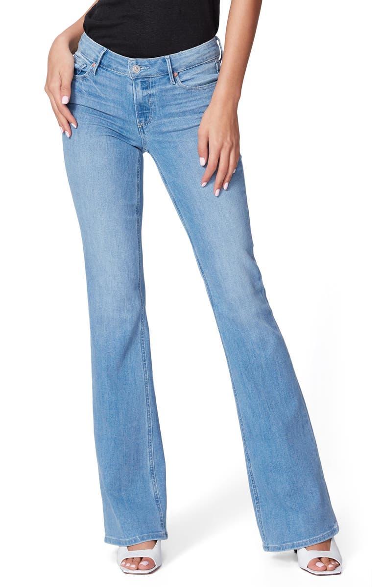 PAIGE Skyline Bootcut Jeans, Main, color, 400