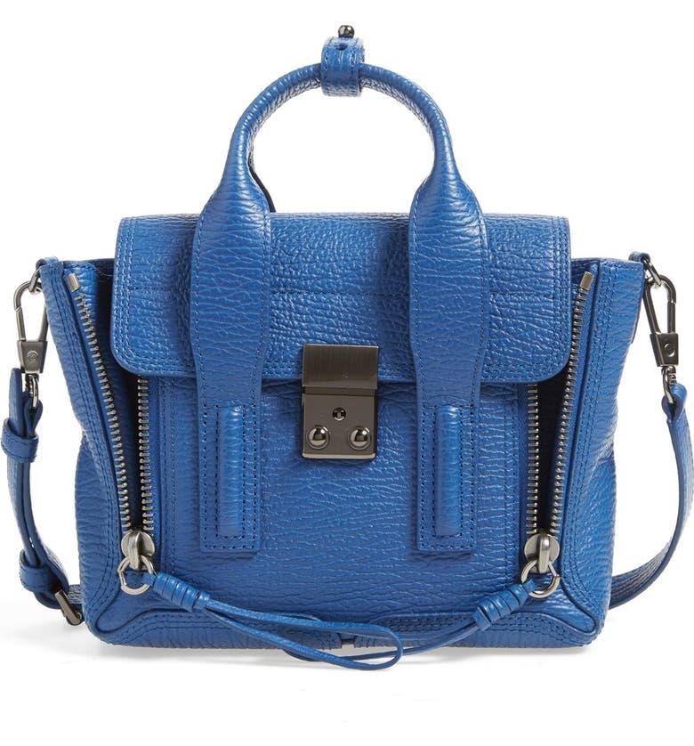 3.1 PHILLIP LIM 'Mini Pashli' Leather Satchel, Main, color, 400