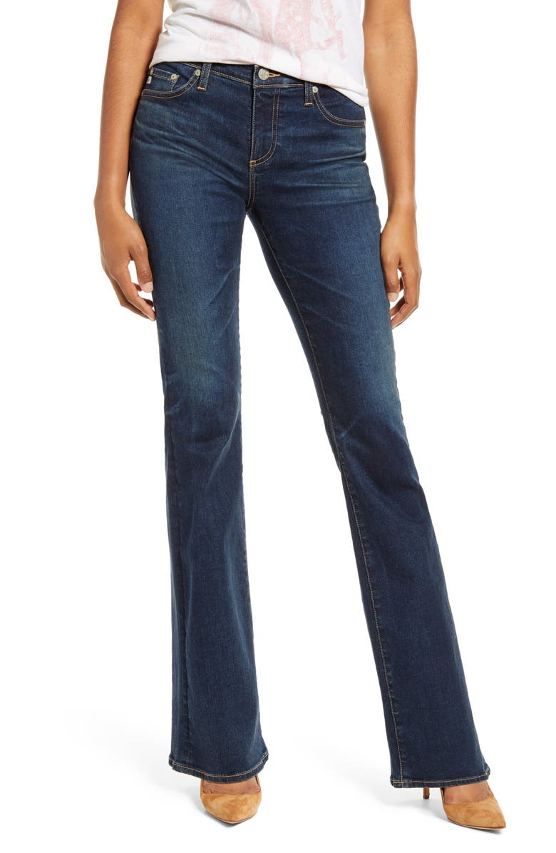 AG Angel Bootcut Jeans, Main, color, 10 YEARS VIRTUE