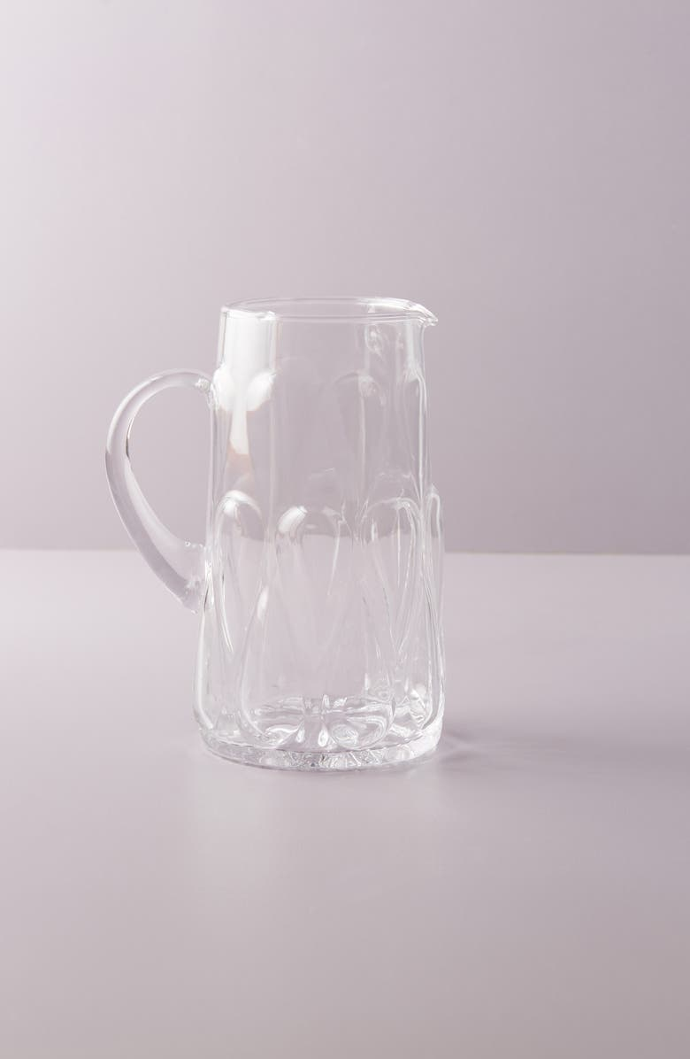 ANTHROPOLOGIE HOME Anthropologie Layla Pitcher, Main, color, 100