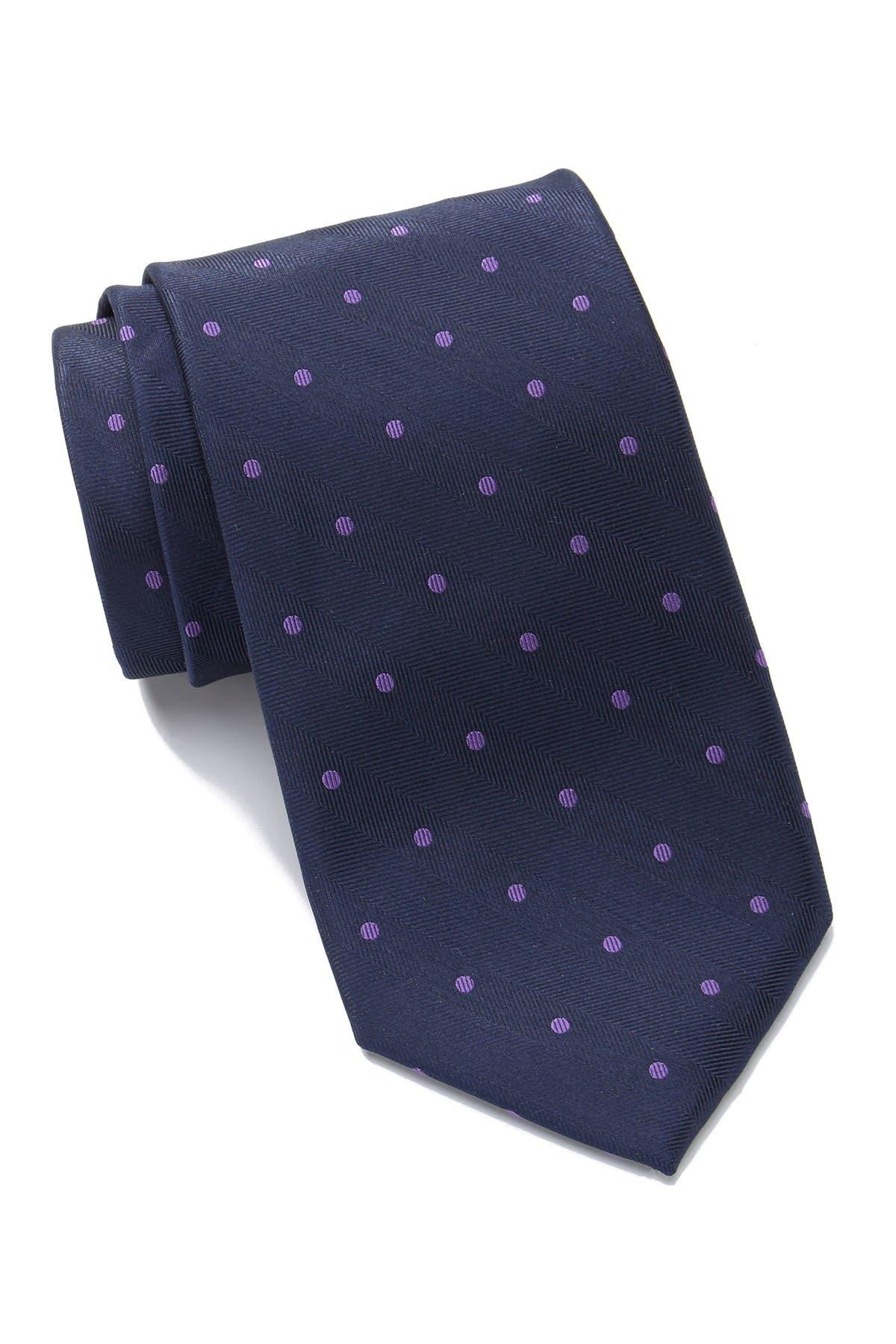 Image of Tommy Hilfiger Herringbone Dot Tie