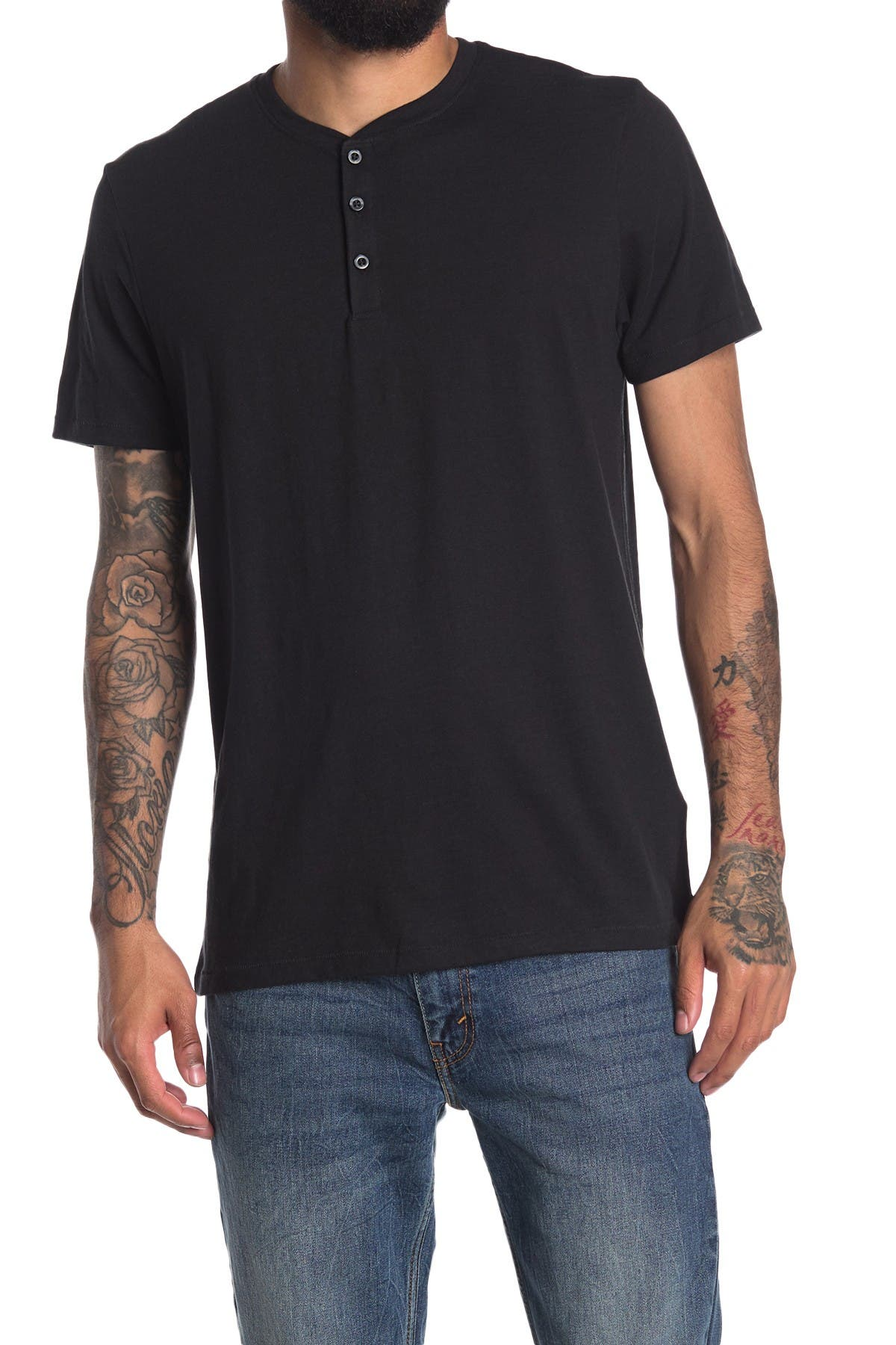 Image of Abound Short Sleeve Henley T-Shirt