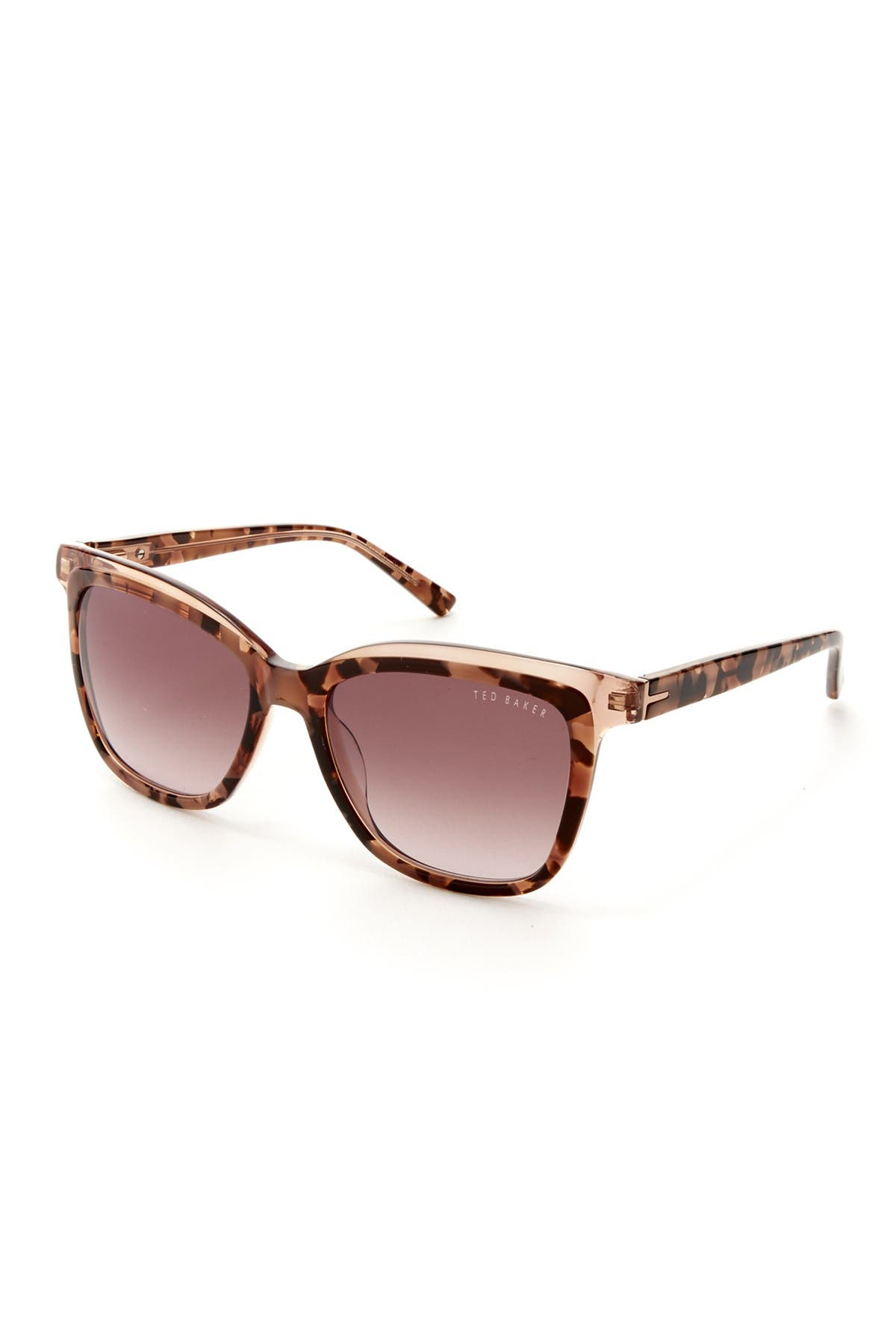 Image of Ted Baker London 54mm Acetate Square Sunglasses