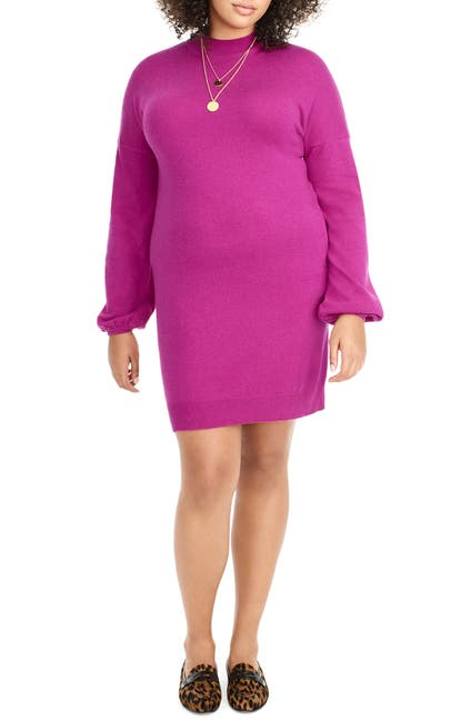 Image of UNIVERSAL STANDARD for J.Crew Wool & Cashmere Sweater Dress