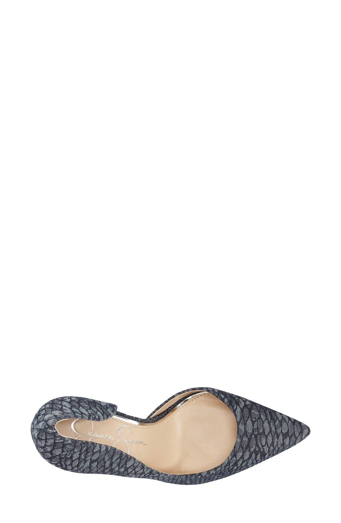 ,                             'Claudette' Half d'Orsay Pump,                             Alternate thumbnail 198, color,                             475