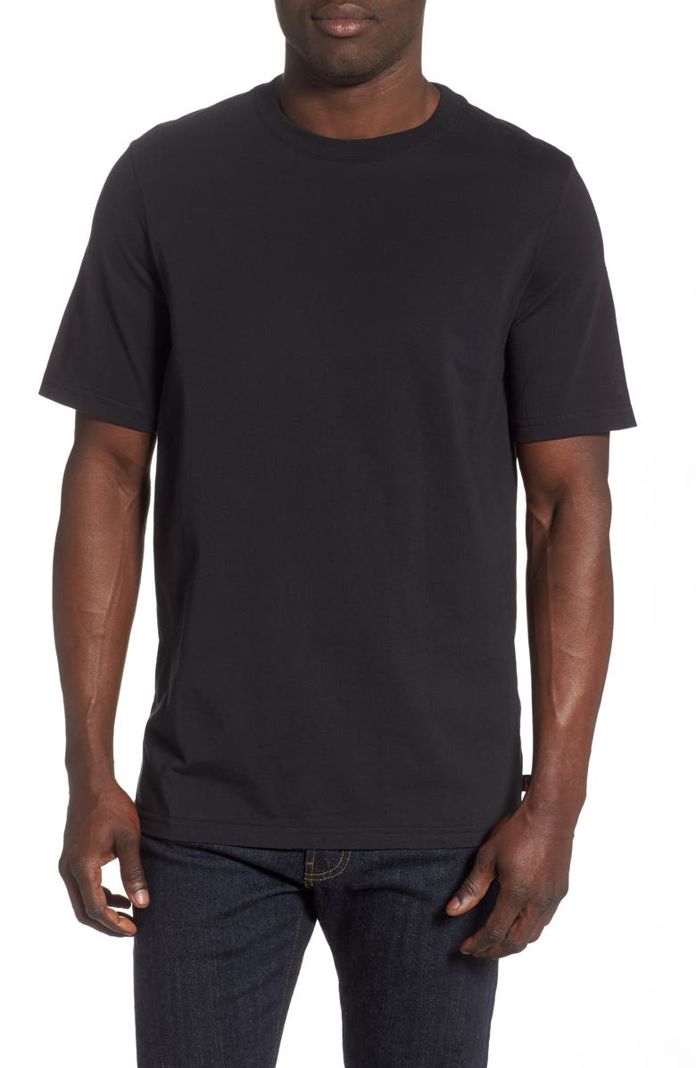 HERSCHEL SUPPLY CO. Short Sleeve T-Shirt, Main, color, BLACK
