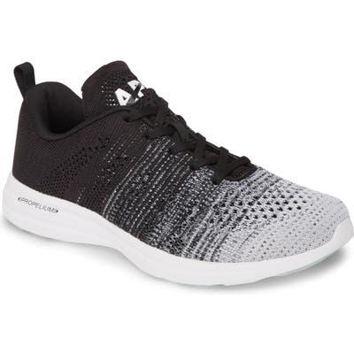 Apl Techloom Pro Knit Running Shoe, Black