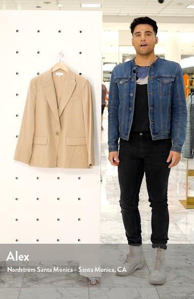 Flannel Boyfriend Blazer, sales video thumbnail