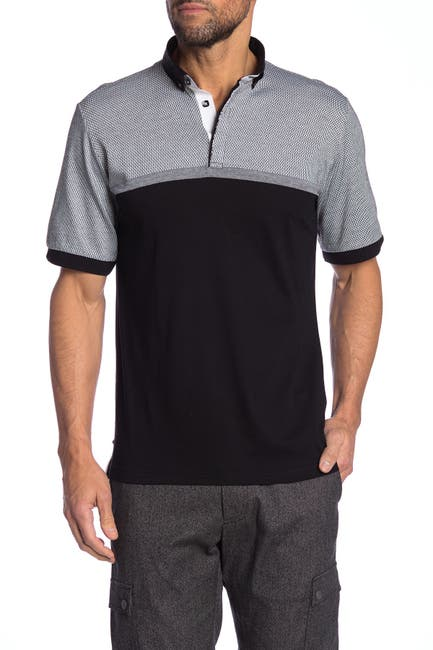 Image of Maceoo Wide Stripe Polo