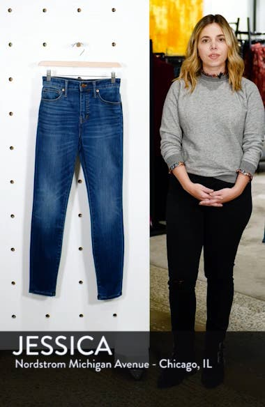 Curvy High Waist Skinny Jeans, sales video thumbnail
