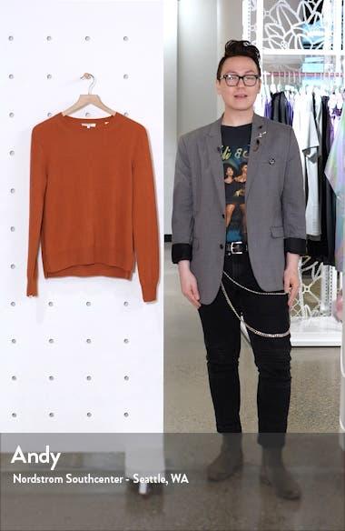 Step Hem Cashmere Sweater, sales video thumbnail