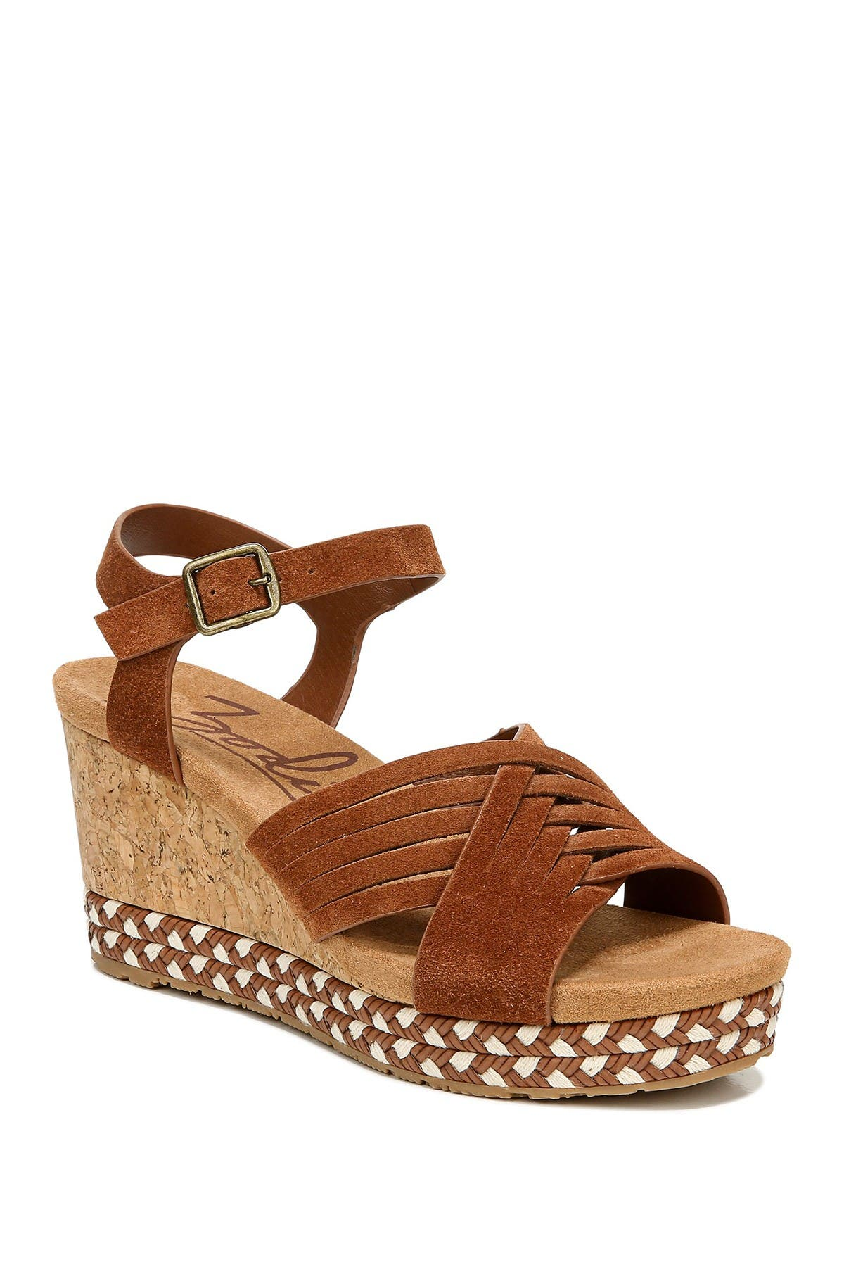 Image of Zodiac Paola Suede Wedge Sandal