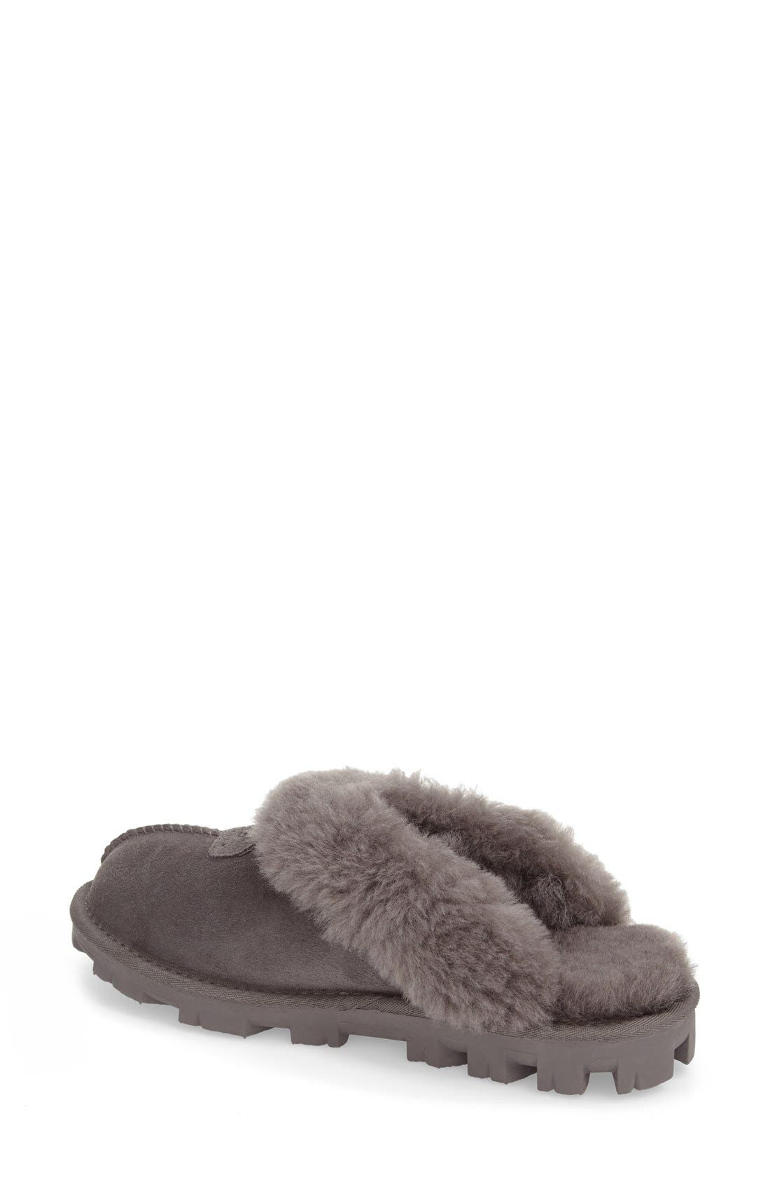 ,                             Genuine Shearling Slipper,                             Alternate thumbnail 46, color,                             020
