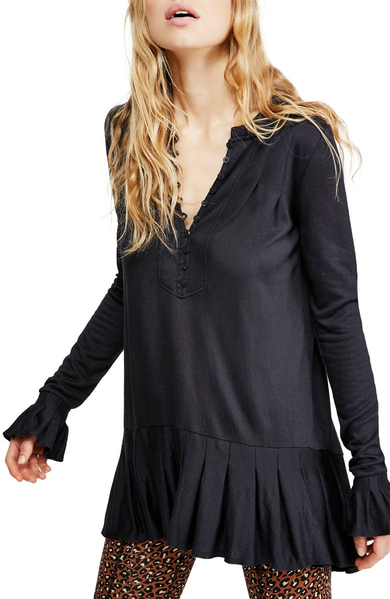 FREE PEOPLE Your Girl Tunic, Main, color, 001