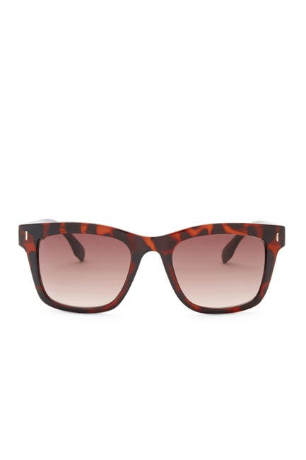 Image of Kenneth Cole Reaction Plastic Square Sunglasses