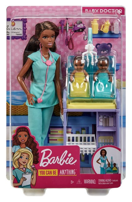Image of Mattel Barbie(R) Baby Doctor Doll Playset