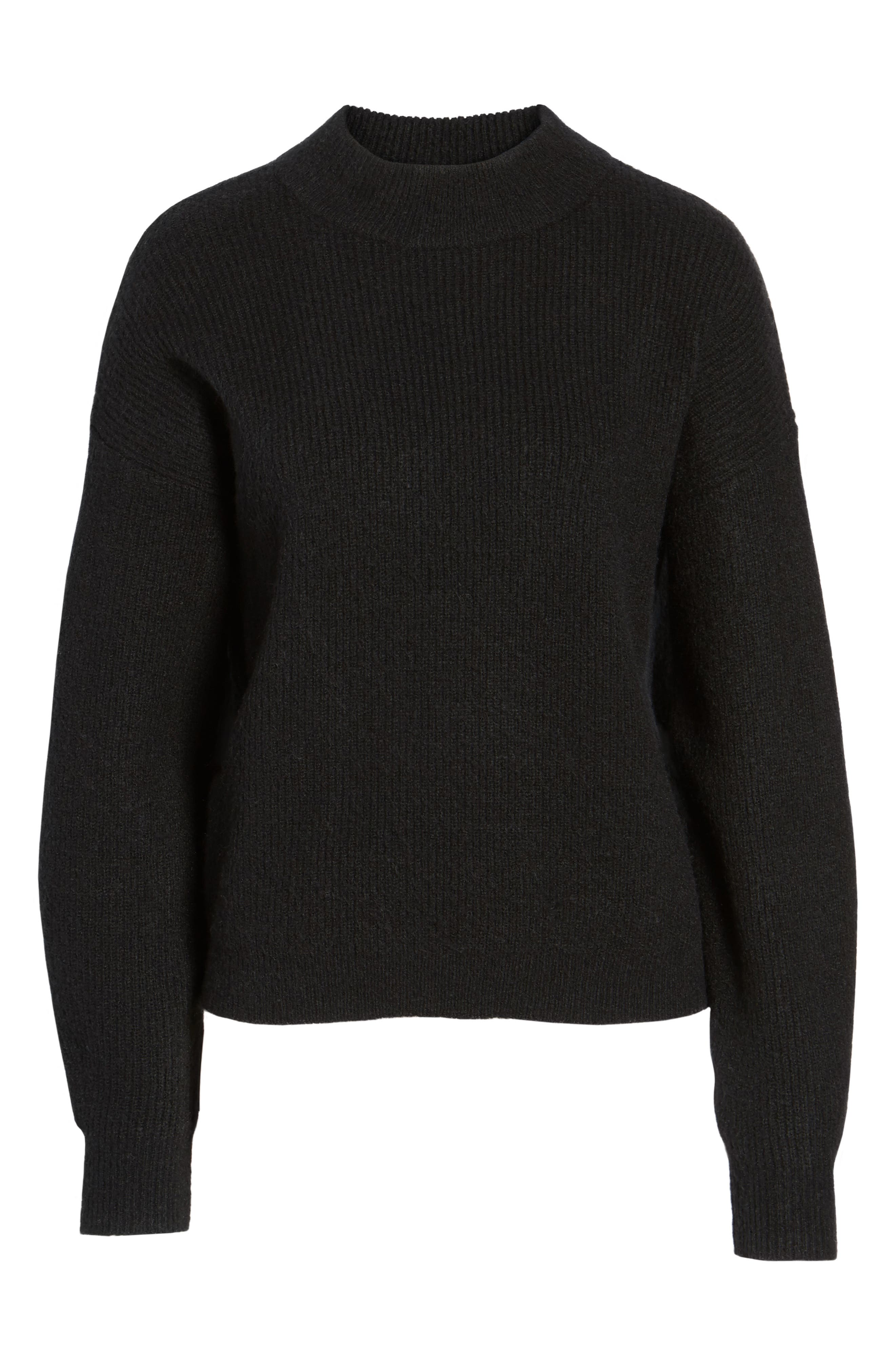 ,                             Cozy Ribbed Pullover,                             Alternate thumbnail 24, color,                             001