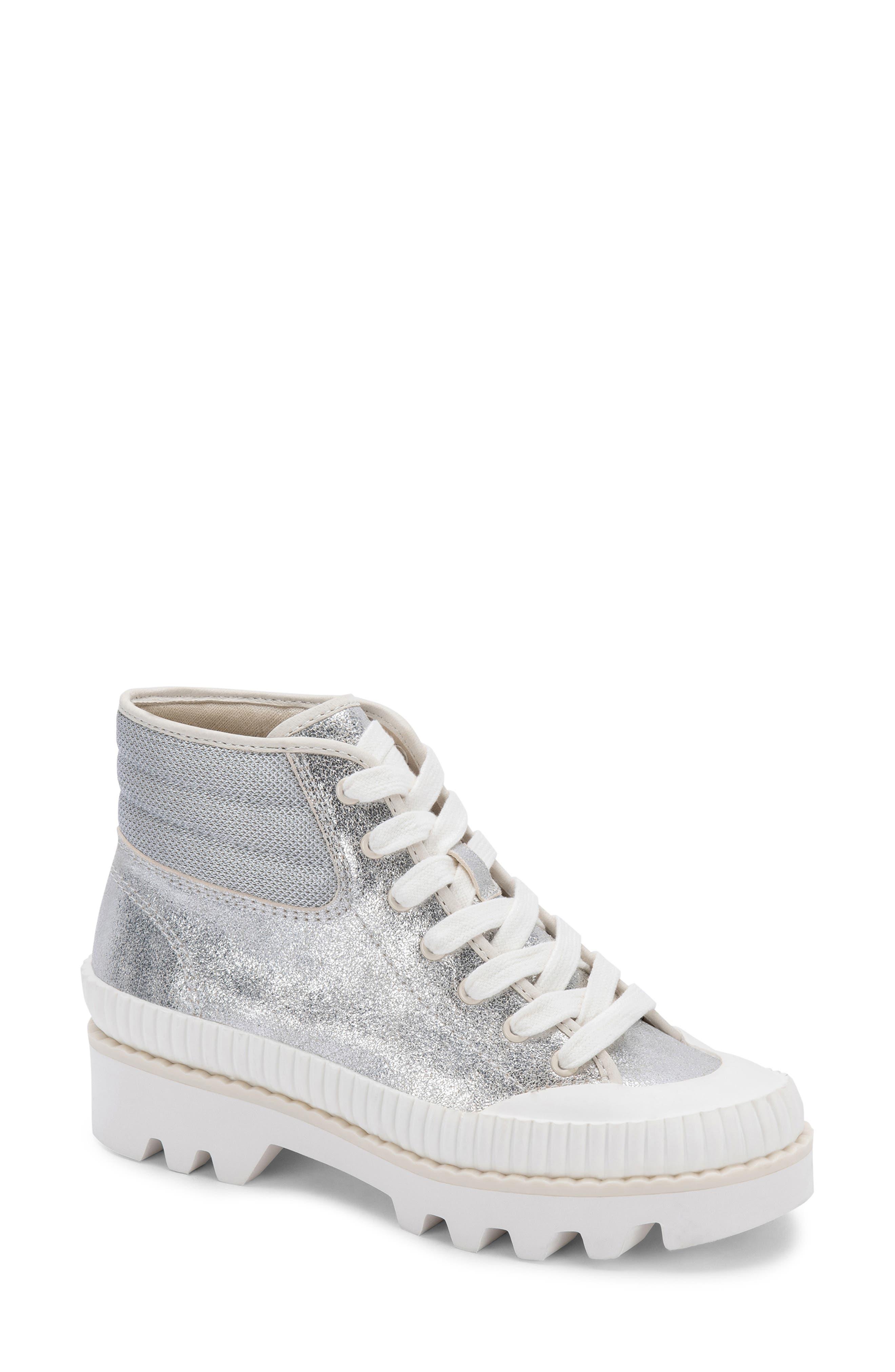 Ociana High Top Lace-Up Platform Sneaker