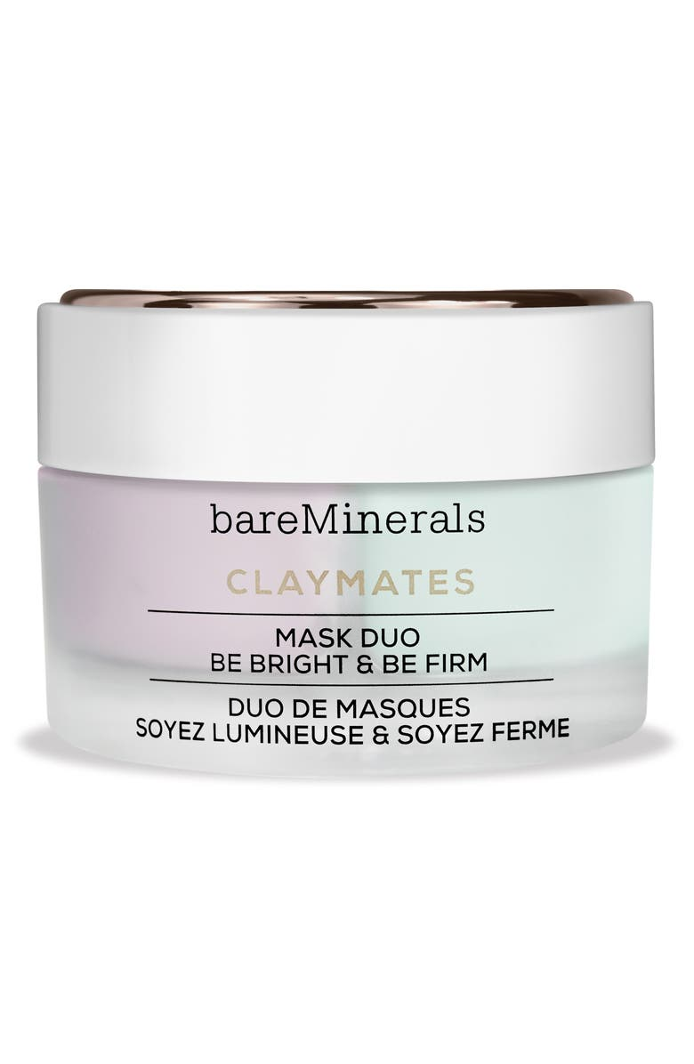 BareMinerals Be Bright Be Firm Claymates Mask Duo