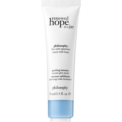 Philosophy Renewed Hope In A Jar Peeling Mousse Instant Glow Exfoliator