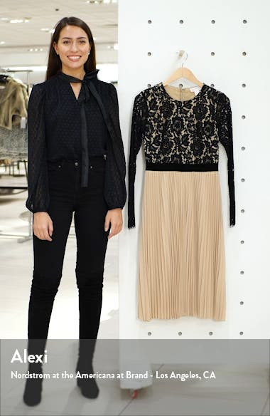 Lace Pleat Dress, sales video thumbnail