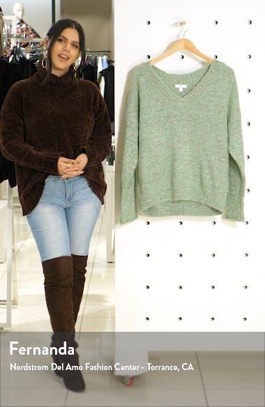 Cozy V-Neck Sweater, sales video thumbnail