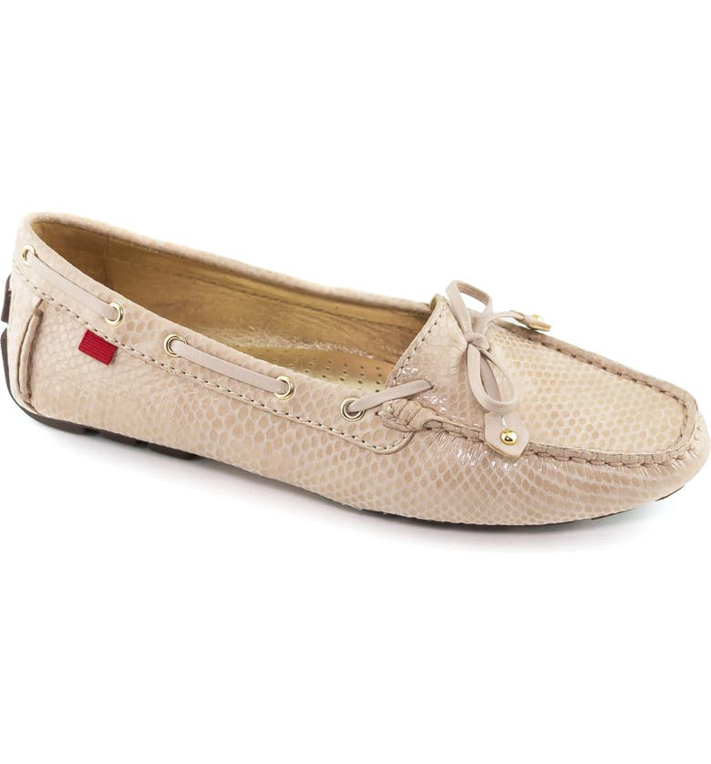 MARC JOSEPH NEW YORK 'Cypress Hill' Loafer, Main, color, BLUSH SNAKE PRINT LEATHER