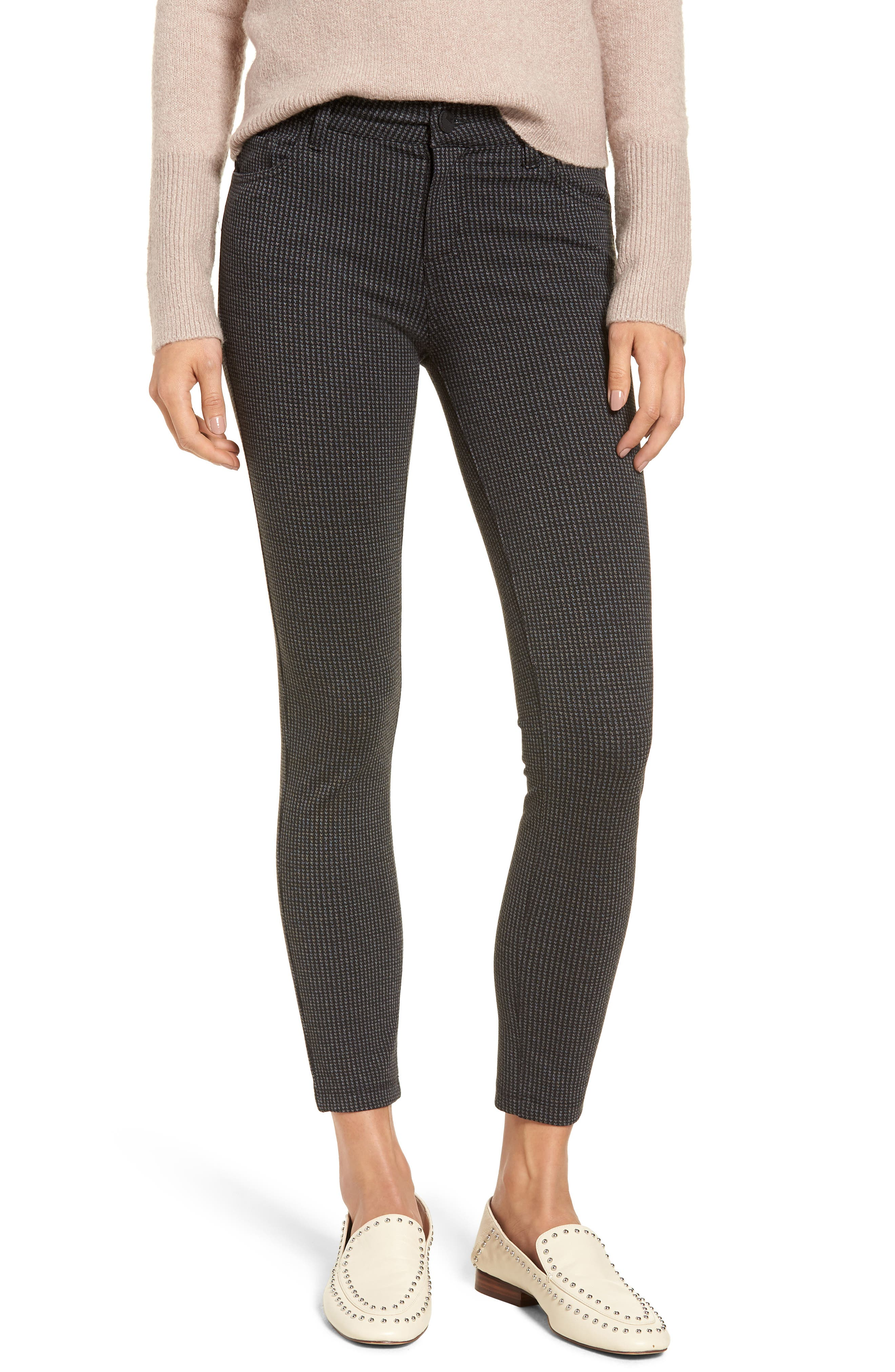 KUT from the Kloth Donna Print Ponte Knit Skinny Pants (Regular & Petite)