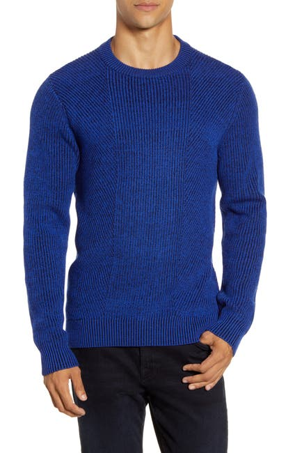 Image of Ted Baker London Mixme Directional Ribbed Crewneck Sweater