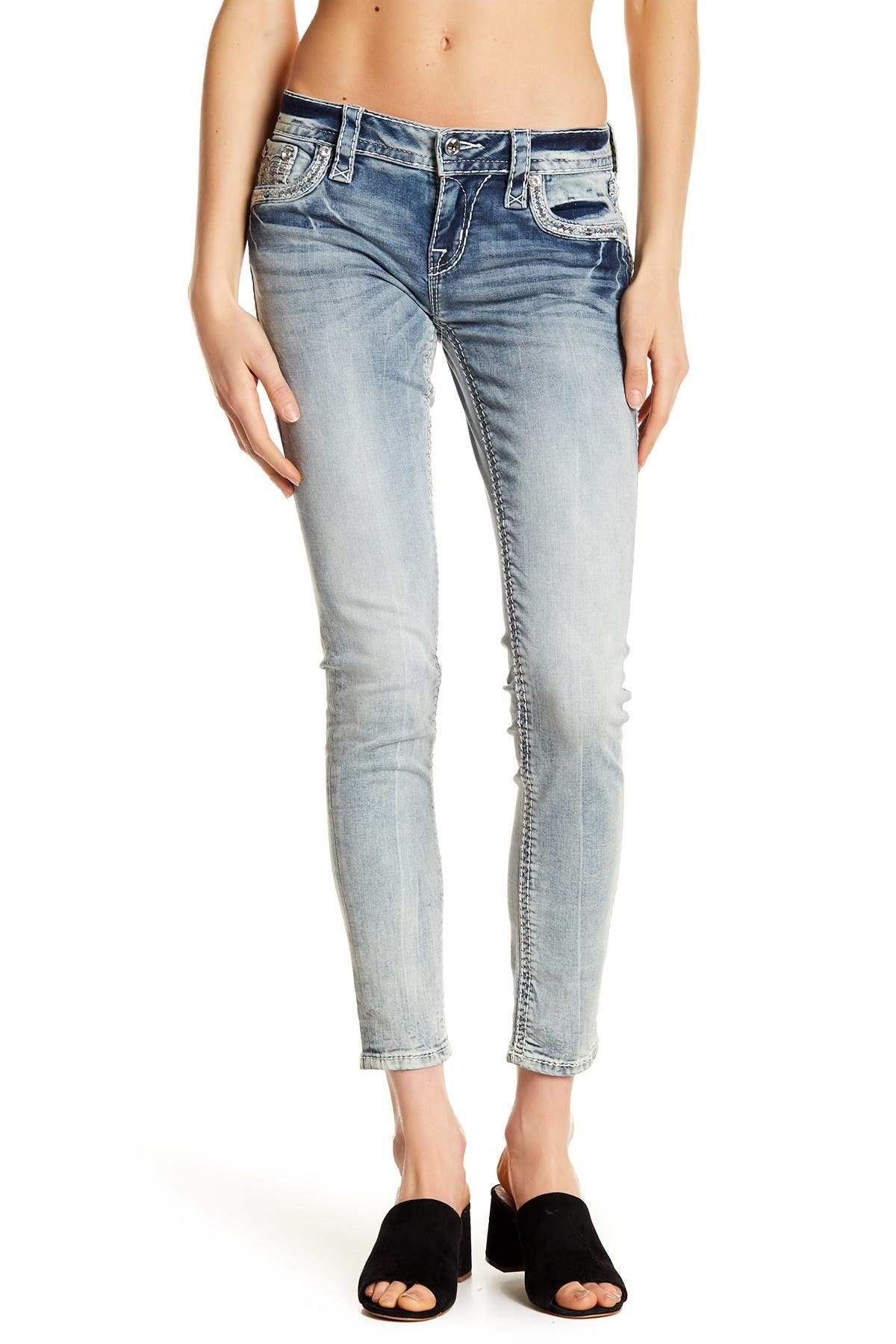 Image of Rock Revival Hanaya Ankle Skinny Jeans