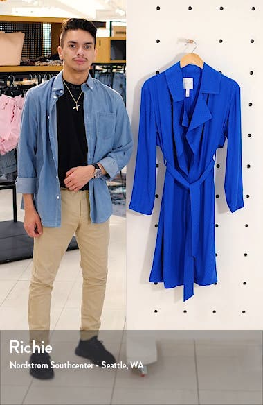 Dot Soft Trench Coat, sales video thumbnail