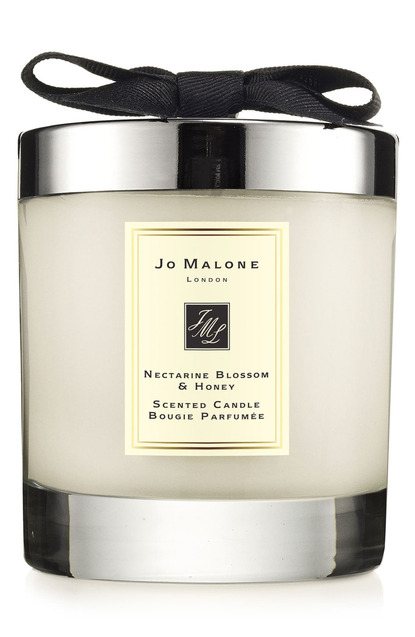 Jo Malone<sup>™</sup> Nectarine Blossom & Honey Scented Home Candle, Main, color, NO COLOR