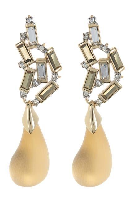 dangling dewdrop earrings