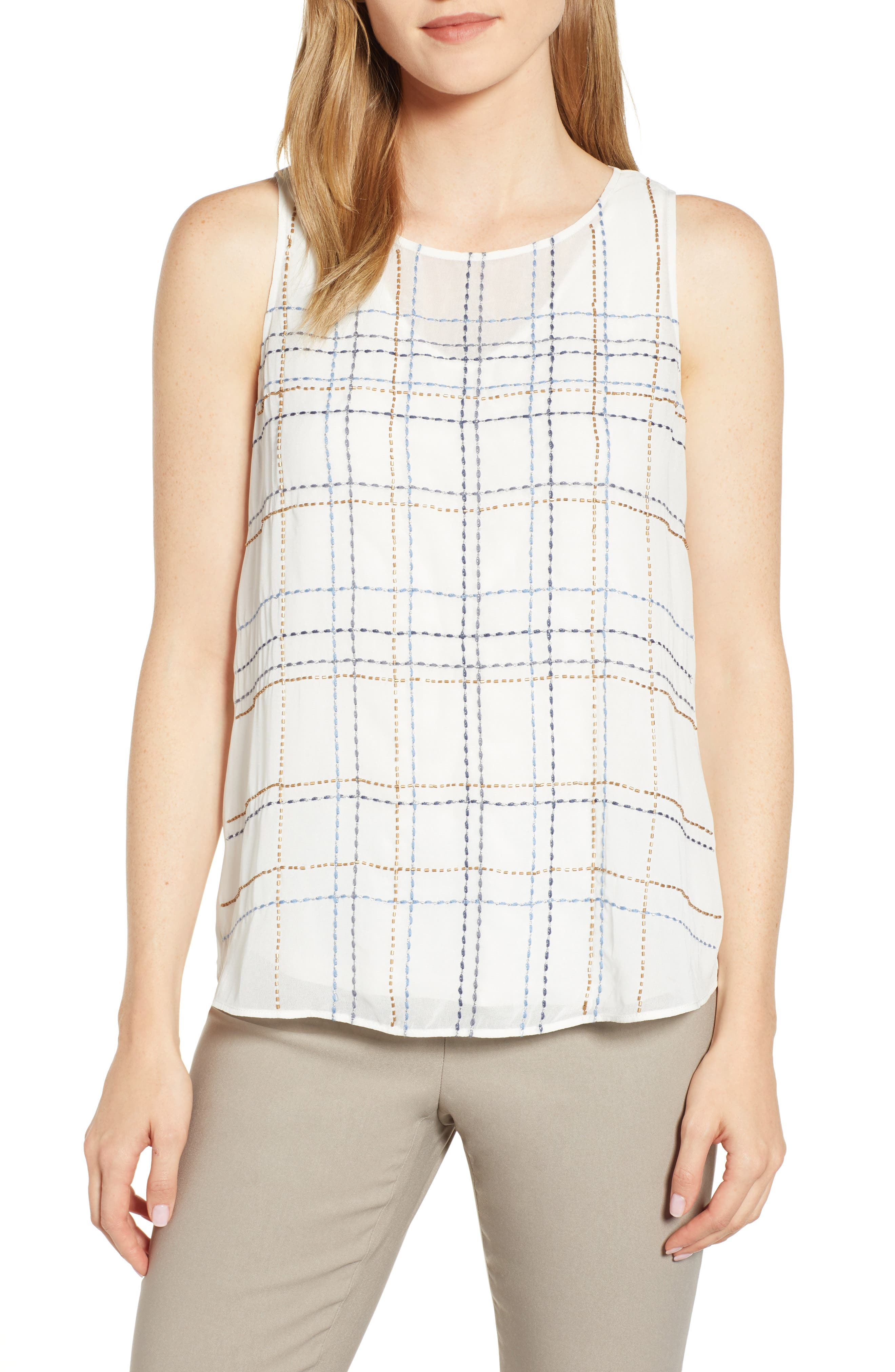 In the Lines Tank Top, Main, color, 190