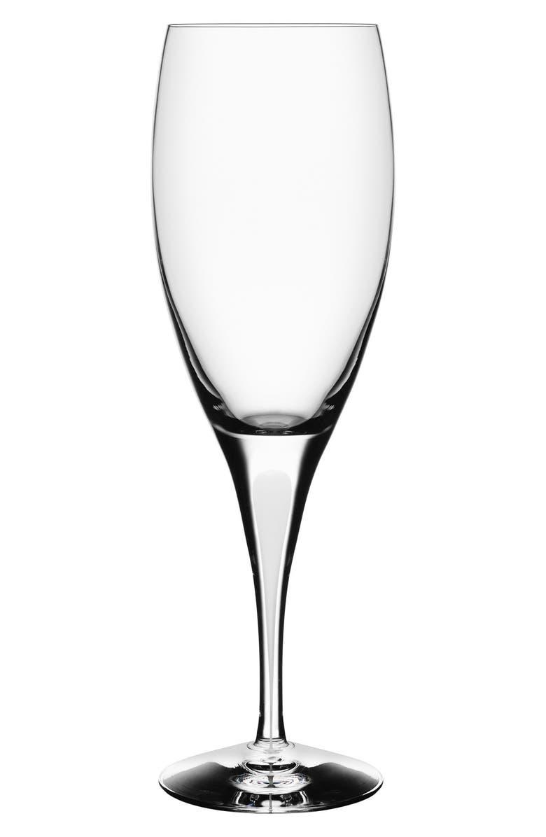 ORREFORS 'Intermezzo' Claret Glass, Main, color, 100