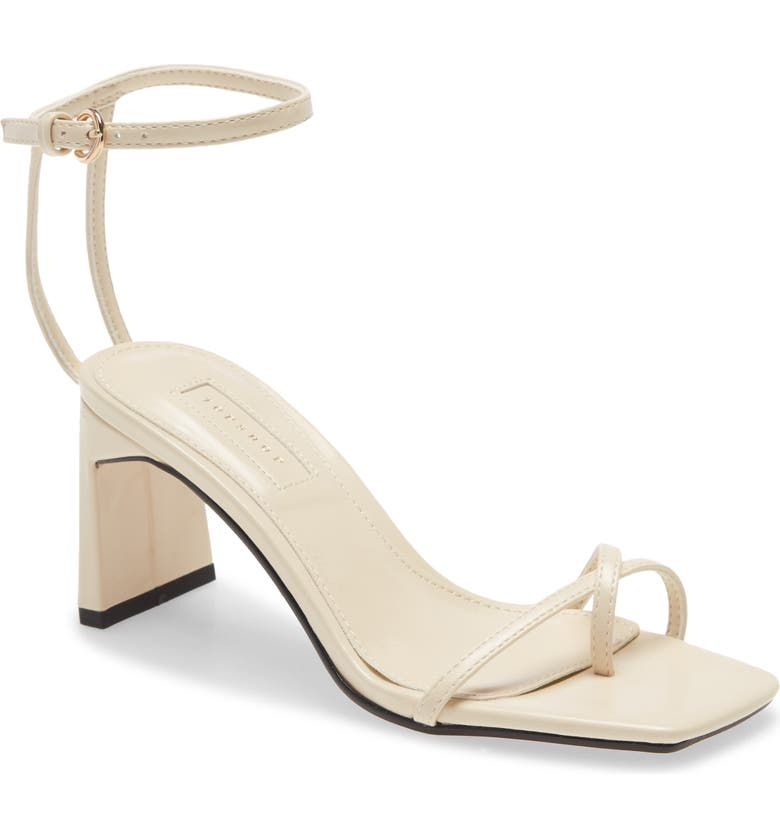TOPSHOP Nature Strappy Block Heel Sandal, Main, color, 900