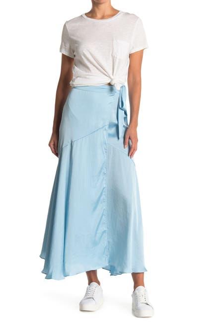 Image of Free People So Silky Wrap Half-Slip Skirt
