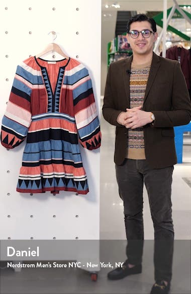 Mika Long Sleeve Minidress, sales video thumbnail