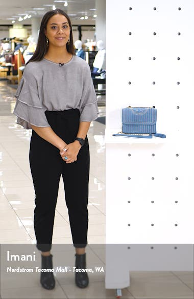 Mini Fleming Studded Suede Shoulder Bag, sales video thumbnail