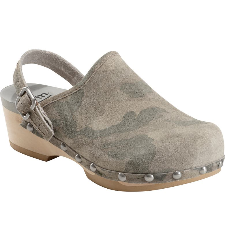 EARTH<SUP>®</SUP> Tiku Clog, Main, color, TAUPE SUEDE