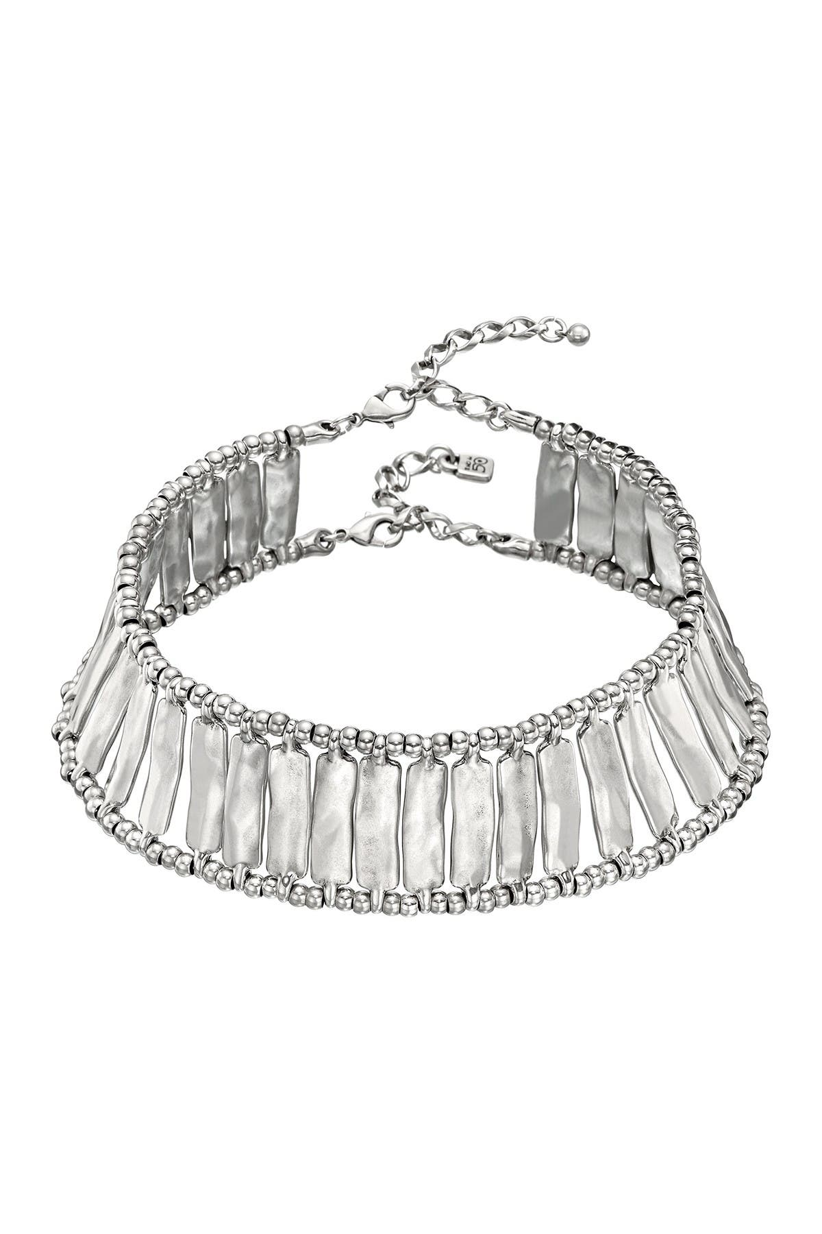 Image of Uno De 50 Lizza Caged Choker Necklace