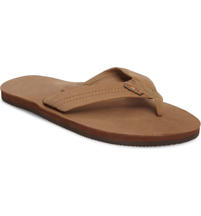 RAINBOW<SUP>®</SUP> Rainbow '301Alts' Sandal, Main, color, BROWN