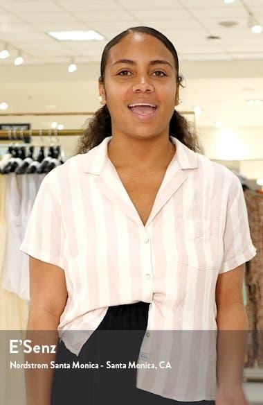Twist Chambray Shirtdress, sales video thumbnail