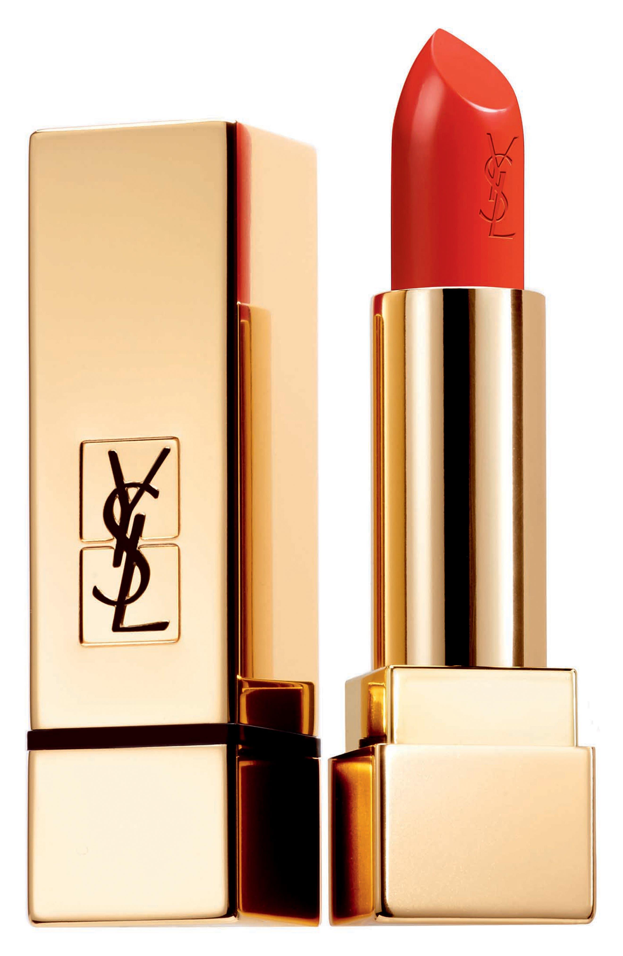 Yves Saint Laurent Rouge Pur Couture Satin Lipstick - 13 Le Orange