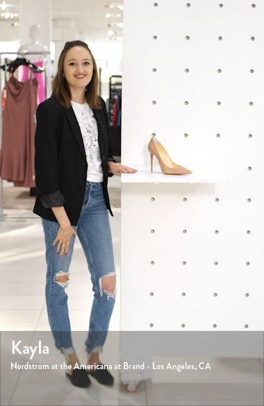 Pointed Toe Pump, sales video thumbnail