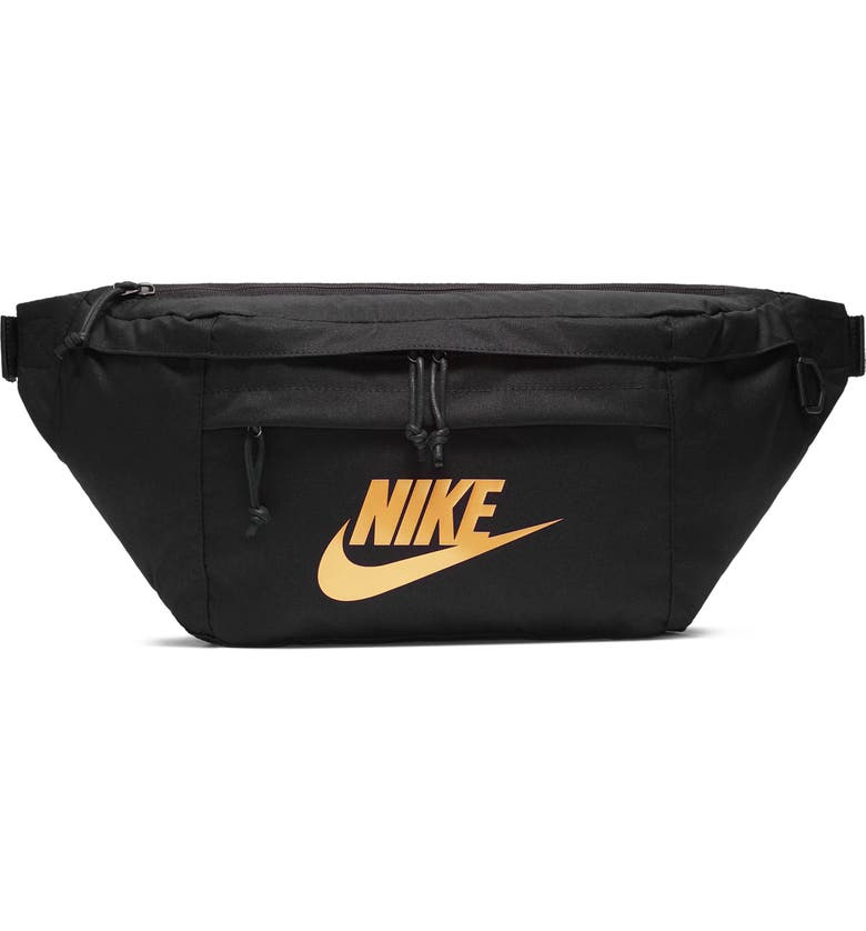 NIKE Tech Hip Pack, Main, color, BLACK/BLACK/METALLIC GOLD