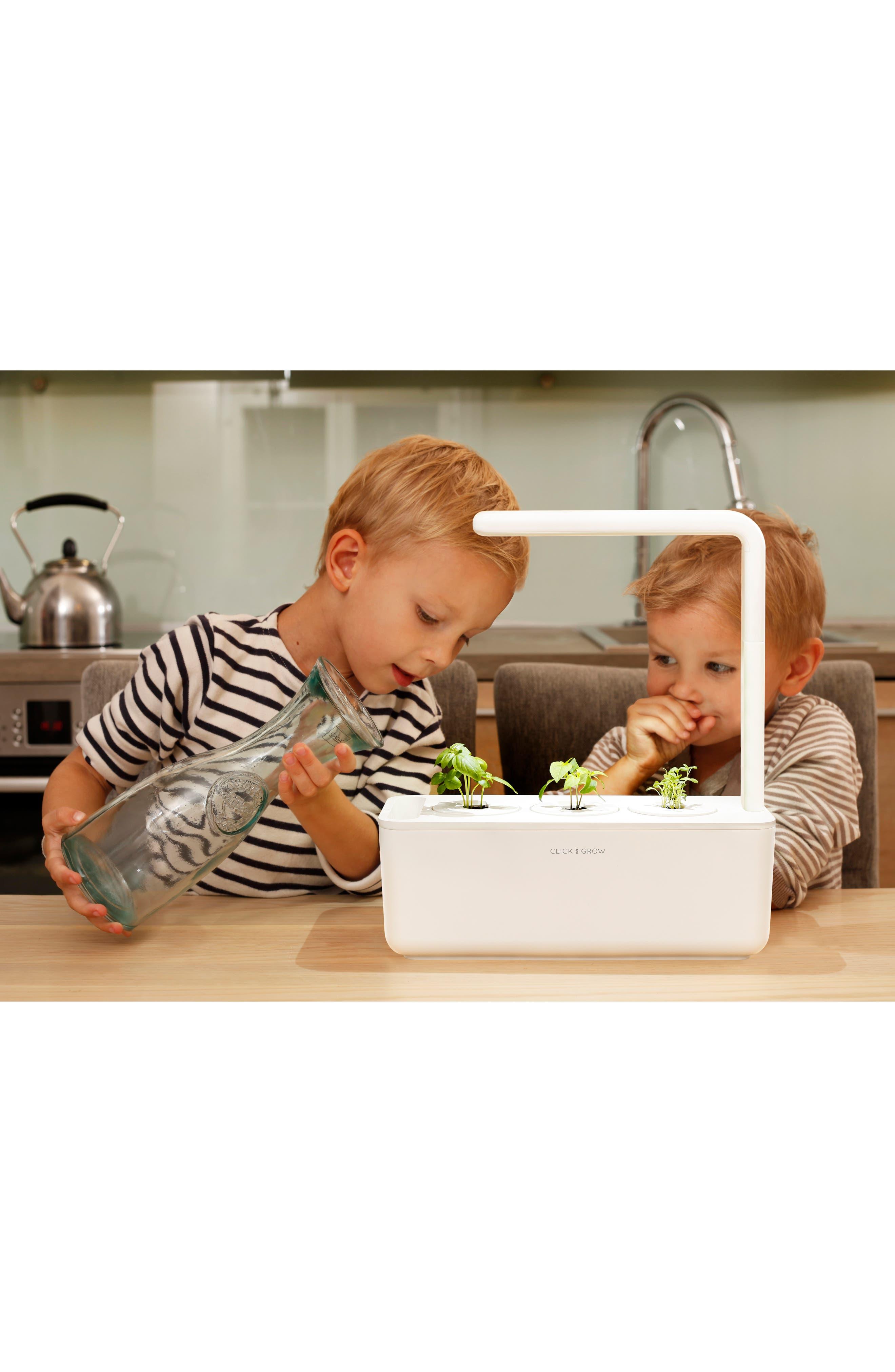 ,                             Smart Garden 3 Self Watering Indoor Garden,                             Alternate thumbnail 4, color,                             GREY
