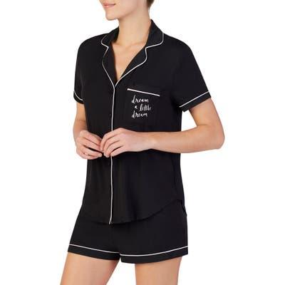 Kate Spade New York Short Pajamas, Black
