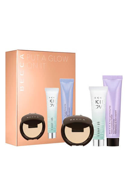 Image of BECCA Cosmetics Put A Glow On It 3-Piece Kit